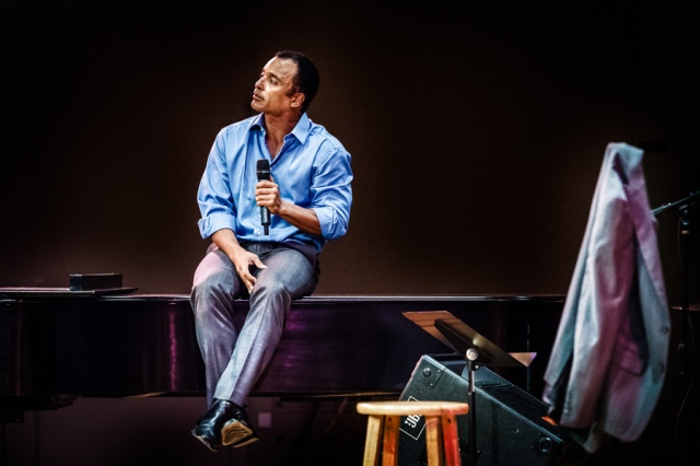 Jon Secada during his performance at Festival Miami