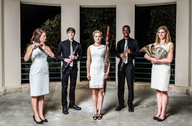 Stamps Woodwind Quintet at the Frost School of Music